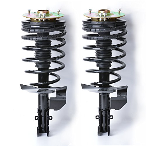 MGPRO 2pcs Front Complete Assembly Suspension Shock Absorber Strut & Springs For Buick 84-85 Skylark & Chevy 85-90 Celebrity/84-85 Citation & 85-96 Olds Cutlass Ciera & 84-91 Pontiac 6000