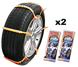 Zip Grip Go Cleated Tire Traction Snow Ice Mud - Car SUV Van Truck