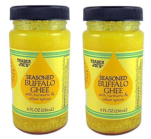Trader Joe's Seasoned Buffalo Ghee with Turmeric & Other Spices (Buffalo Mustard)