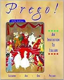 Amazon.com: Prego! An Invitation to Italian (Student