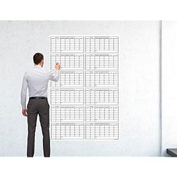 Amazon Com Huuuge Wall Calendar 48 Inch By 72 Inch
