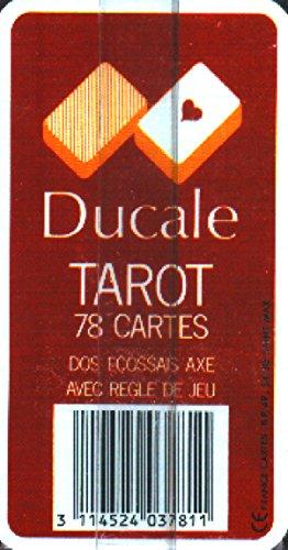 France cartes - 403780 - Jeu de Cartes - Tarot 78 cartes Ducale en étui carton.