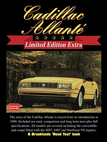 Cadillac Allanté Limited Edition Extra