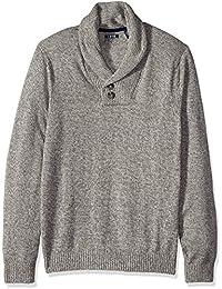 Men's Big & Tall Newport 7g Marled Shawl Sweater
