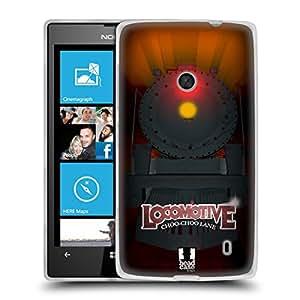 Head Case Designs Cargo Locomotora Caso de Gel Suave para Nokia Lumia 520 / 525