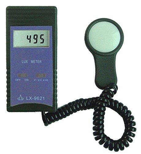 VETUS INSTRUMENTS LX-9621 Digital Brightness Meter Illuminance/Light Meter with 0 – 50,000 Lux Meter Lighting Measurement LCD Display Illuminance Tester Multi-parameter Lumeter FC Fux , purple