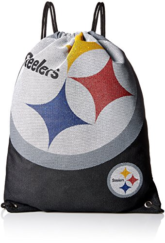 Steelers Gnome Pittsburgh (Forever Collectibles NFL Pittsburgh Steelers 2015 Jersey Drawstring Backpack, Black)