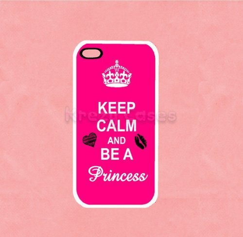 Keep calm and be a princess Iphone 5 Case - For Iphone 5, iPhone 5 cover