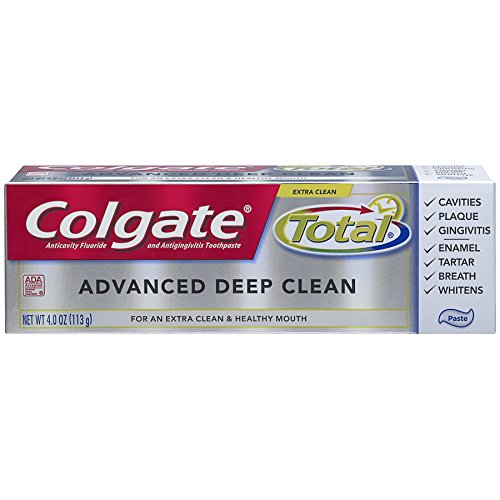 Price comparison product image Colgate Total Advanced Deep Clean Toothpaste, 4 ounce (6 Pack)