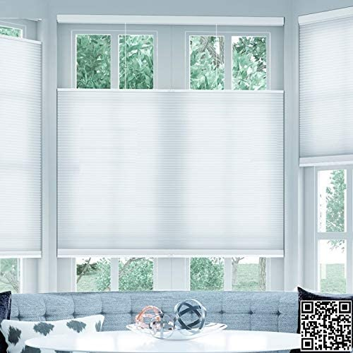 Amazon Com Manual Motorized Cellular Shades Honeycomb Blinds Pleated Blinds Cordless Top Down Bottom Up Websize Priced At 1pc 39 W X 39 L Contact Us For Customize Size Kitchen Dining