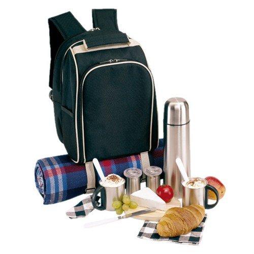 #Picknickrucksack für 2 Personen inkl. Ausstattung und zusätzl. Thermoskanne#