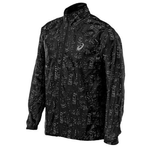 ASICS Men's Performance Run Lightweight Jacket, Skyline Performance Black, - Mens Asics Jacket
