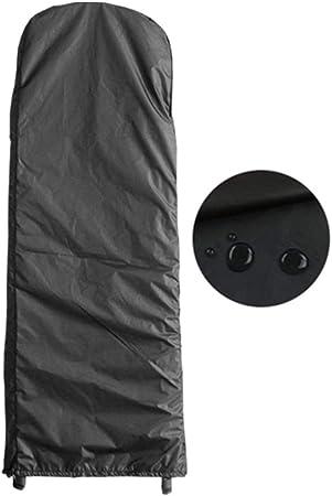 WKZWY-Jardín Funda Muebles A Prueba De Polvo Lona Protectora Impermeable Protector Solar Tapa Almacenamiento Casa Escalera Plegable, Hecho Medida (Color : Negro, Size : 50x195x6.5cm): Amazon.es: Hogar