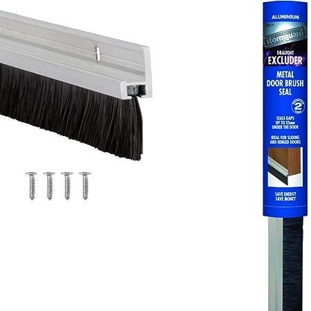 Stormguard Burstenleiste Fur Tur Zugluftstopper Aluminium Amazon