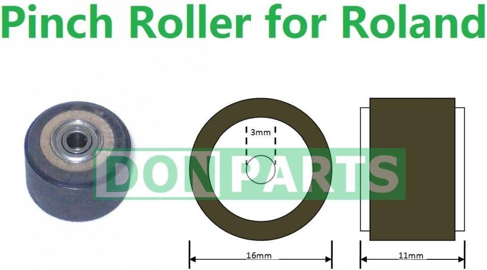 Pinch Roller para Roland vinilo plotter 3 mm Rodamientos Eje: Amazon.es: Informática