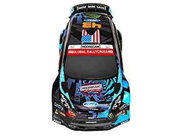 New! 113080 HPi Ford Fiesta Ken Block Body Painted (140mm