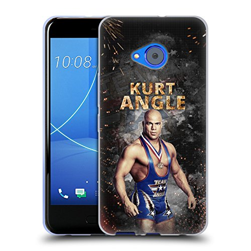 Kurt Angle Life - Official WWE LED Image Kurt Angle Soft Gel Case for HTC U11 Life