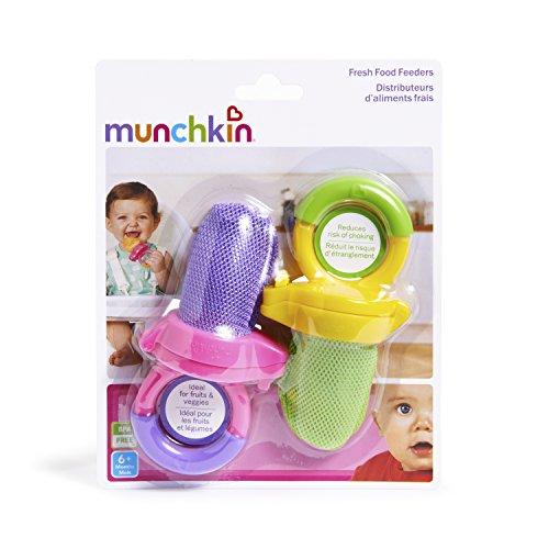 Munchkin Fresh Food Feeder, 2 Pack, Purple/Green