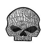 chroma graphics harley davidson - Chroma Graphics Harley-Davidson Willie G. Skull Medium Decal