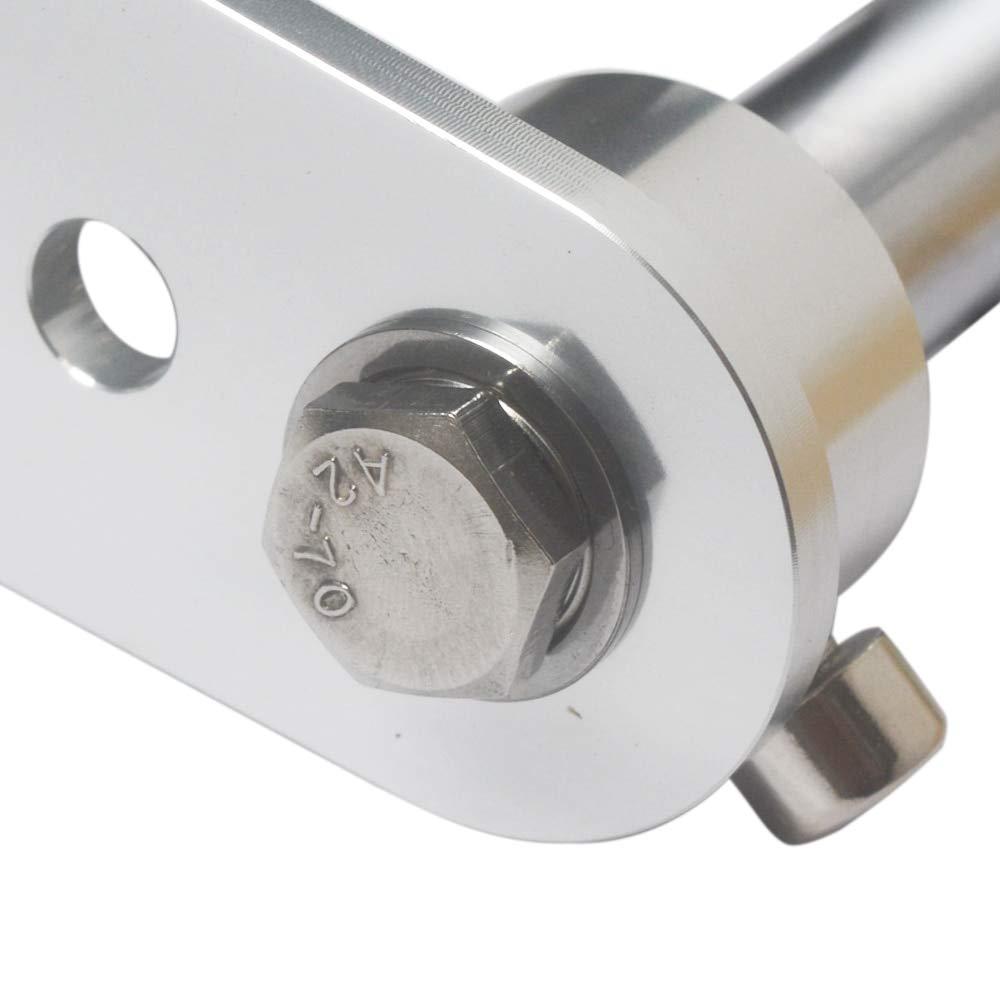 Fevas Aluminum Encoder Mounting Bracket Screws E6B2 OVW Encoder Mounting 140x94x48mm
