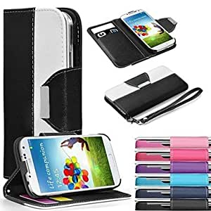 SHOUJIKE Leather Wallet Case Flip Leather Stand Cover with Card Holder for Samsung S3 I9300(Assorted Colors) , Navy