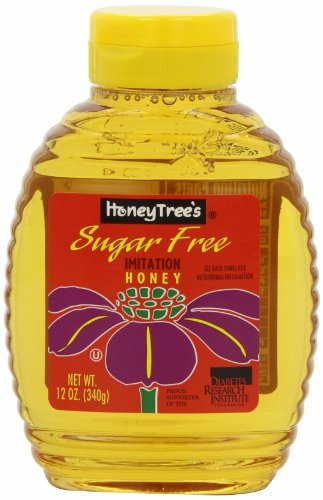 HoneyTree's Imitation Honey, Sugar Free, 12-Ounce Bottles (Pack of 12) - Honey Spread
