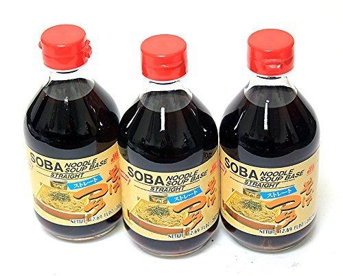 Sauce Base (Shirakiku - Soba Noodle Soup Base (Tsuyu) 12.17 Fl. Oz. (3)