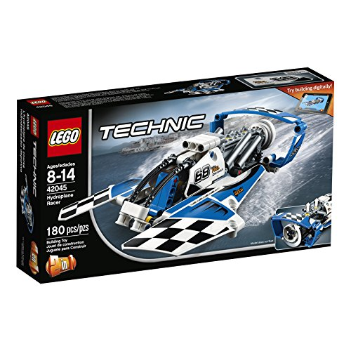 LEGO Technic Hydroplane Racer 42045 Advanced Vehicle Set (Set Technic Instructions)
