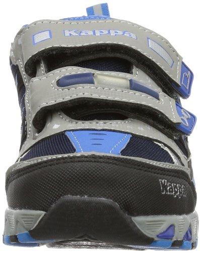 Kappa POLIZEI LOW K 260145K - Zapatillas para niños Multicolor (Mehrfarbig (1660 GREY/BLUE 1660 GREY/BLUE))