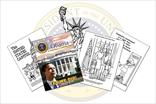 president barack obama a coloring activity book coloringbookcom really big coloring books 9780976318682 amazoncom books - Barack Obama Coloring Book