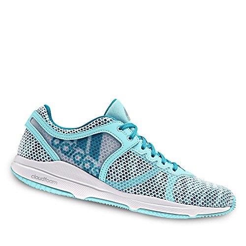 adidas Crazytrain Cf W, Zapatillas para Mujer Blanco (Ftwbla/azul/agucla)