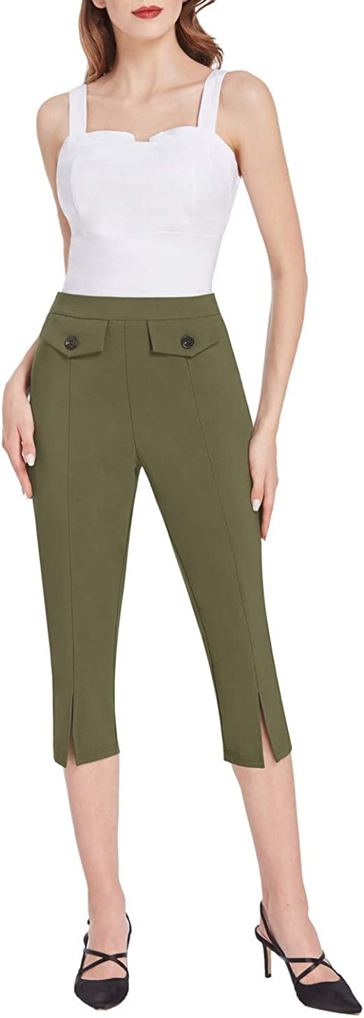 Amazon Coupon Code for Women High Waisted Capris Vintage