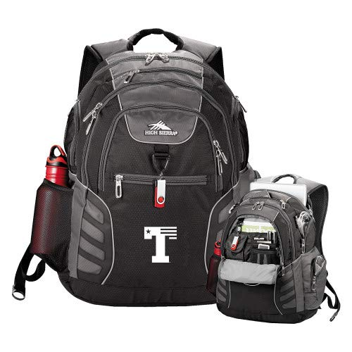 - CollegeFanGear UT Tyler High Sierra Big Wig Black Compu Backpack 'Flag T'