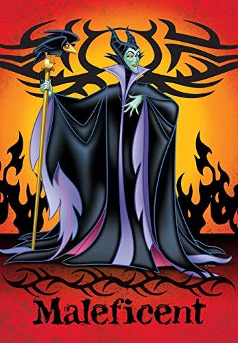 (Flagology.com, Disney, Maleficent, Maleficent - Garden Flag - 12.5