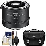 Nikon TC-20E III 2X AF-S Teleconverter Case + Cleaning Kit D3200, D3300, D5300, D5500, D7100, D7200, D610, D750, D810 DSLR Cameras