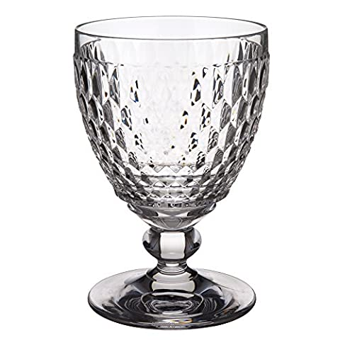 Villeroy & Boch Boston Clear Crystal Goblets, Set of 4