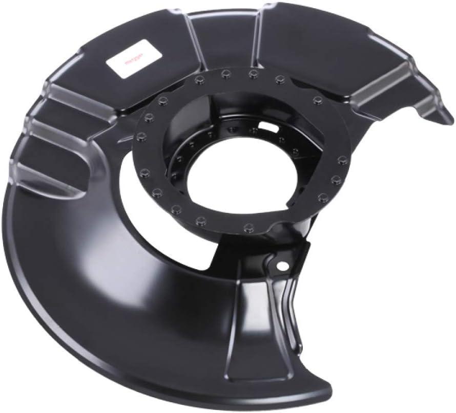 Bremsscheibe für Bremsanlage Vorderachse METZGER 6115054 Spritzblech