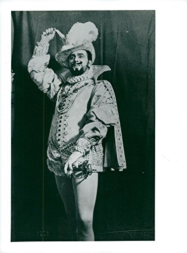 - Vintage photo of John Forsell as Don Juan at the Mozart Jubilee