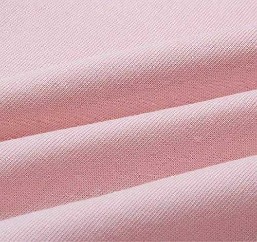Rond Chemise Sport Betrothales Crop Élégant Unicolore Chandail Automne Col Lace Chemises up Sweat Confortable Tops Casual Manches Fashion Sweatshirts Femmes Rose Longues À HZO4nqH