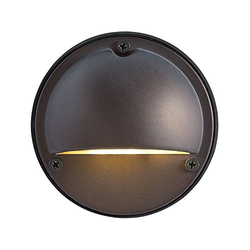 - Eurofase 31953-016 Sconce Outdoor Step Up & Down Light LED, 4x1W, Bronze