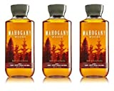Cheap Bath & Body Works 2 in 1 Hair & Body Wash For Men Mahogany Woods (3 Pack)
