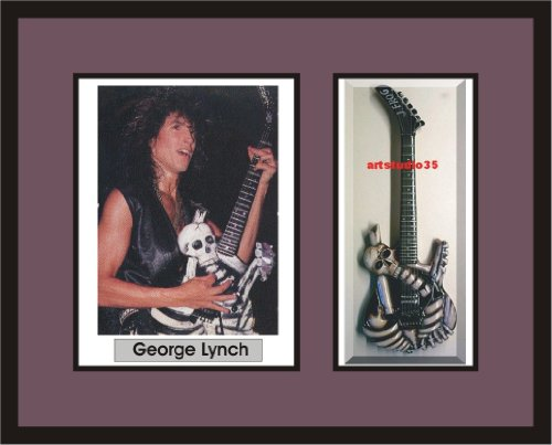 GEORGE LYNCH Guitar Shadowbox Frame JFrog