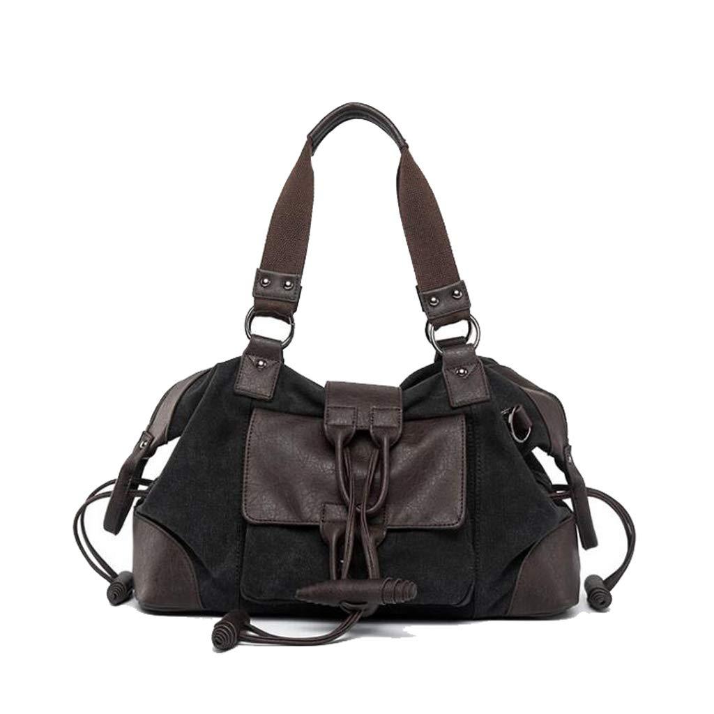 Mens Shoulder Messenger Bag Simple Large Capacity Student Handbag Outdoor Travel 16.146.6910.23 Inch LWH)