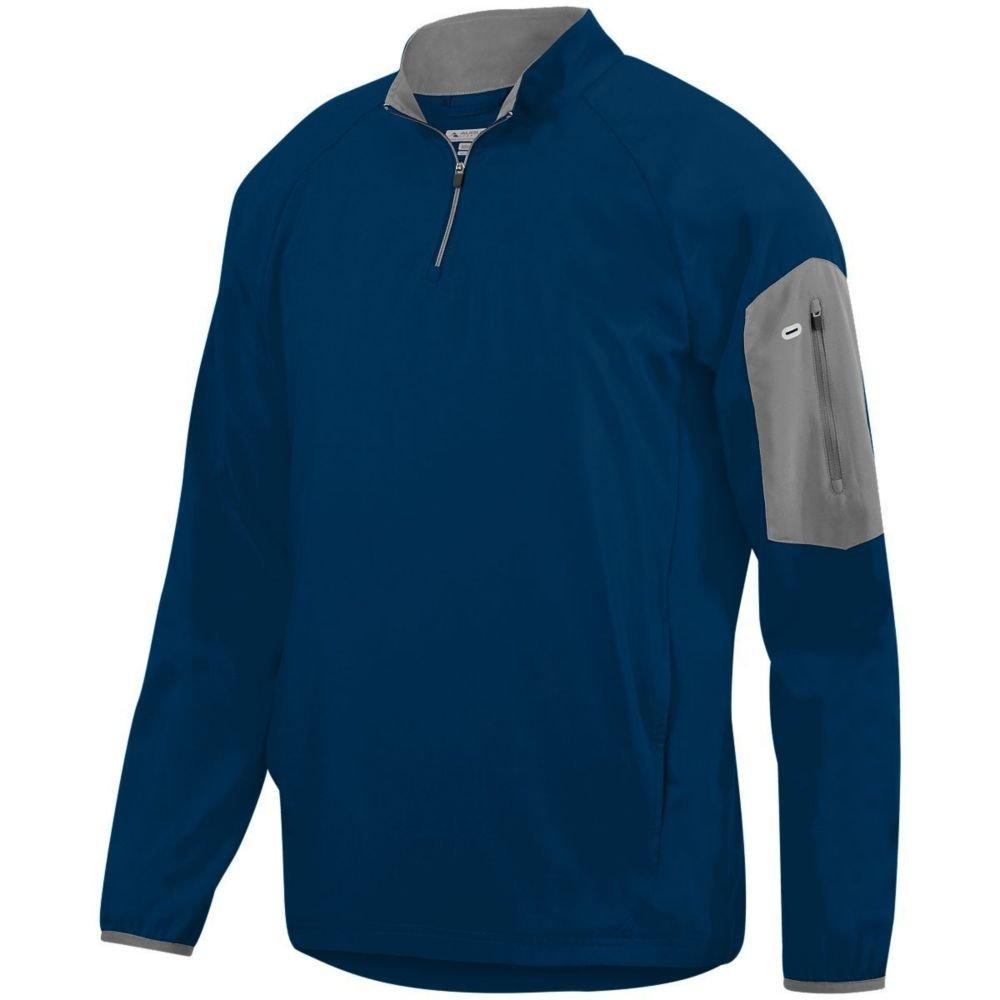 Augusta Activewear OUTERWEAR メンズ B079ZMF1V8 Small ネイビー/チャコールグレー ネイビー/チャコールグレー Small