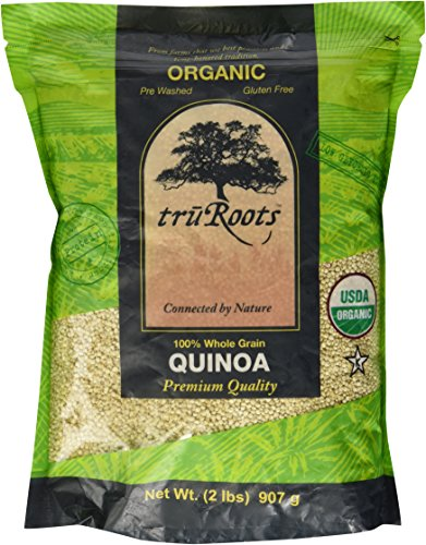 Tru Roots 100% Whole Grain Quinoa (2lb Bag) by QUINOA