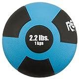 Champion Barbell Rubber Medicine Ball - 2.2 lb. - Light Blue