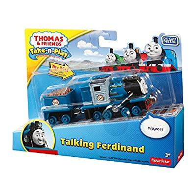 Fisher-Price Thomas & Friends Take-n-Play, Talking Ferdinand: Toys & Games