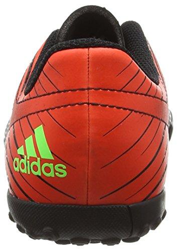 adidas Messi 15.4 Tf J, Botas de Fútbol Unisex Bebé Varios colores (Negro / Verde / Rojo (Negbas / Versol / Rojsol))