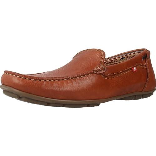 Zapato FLUCHOS 9083 Tornado Cuero Marron: Amazon.es: Zapatos y complementos