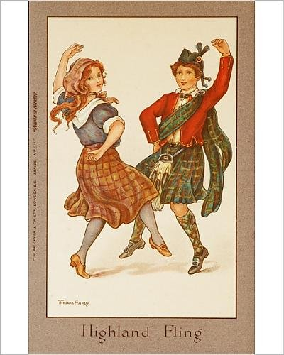 Photographic Print of Highland Fling by Florence Hardy